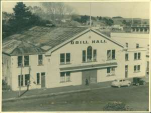 The Wanganui Drill Hall April 1954